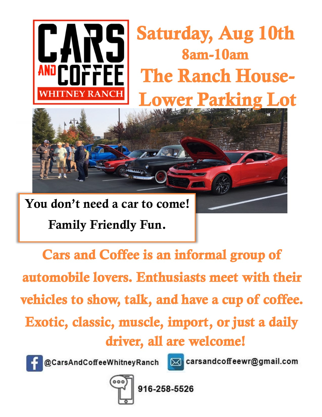 Aug Cars & Coffee