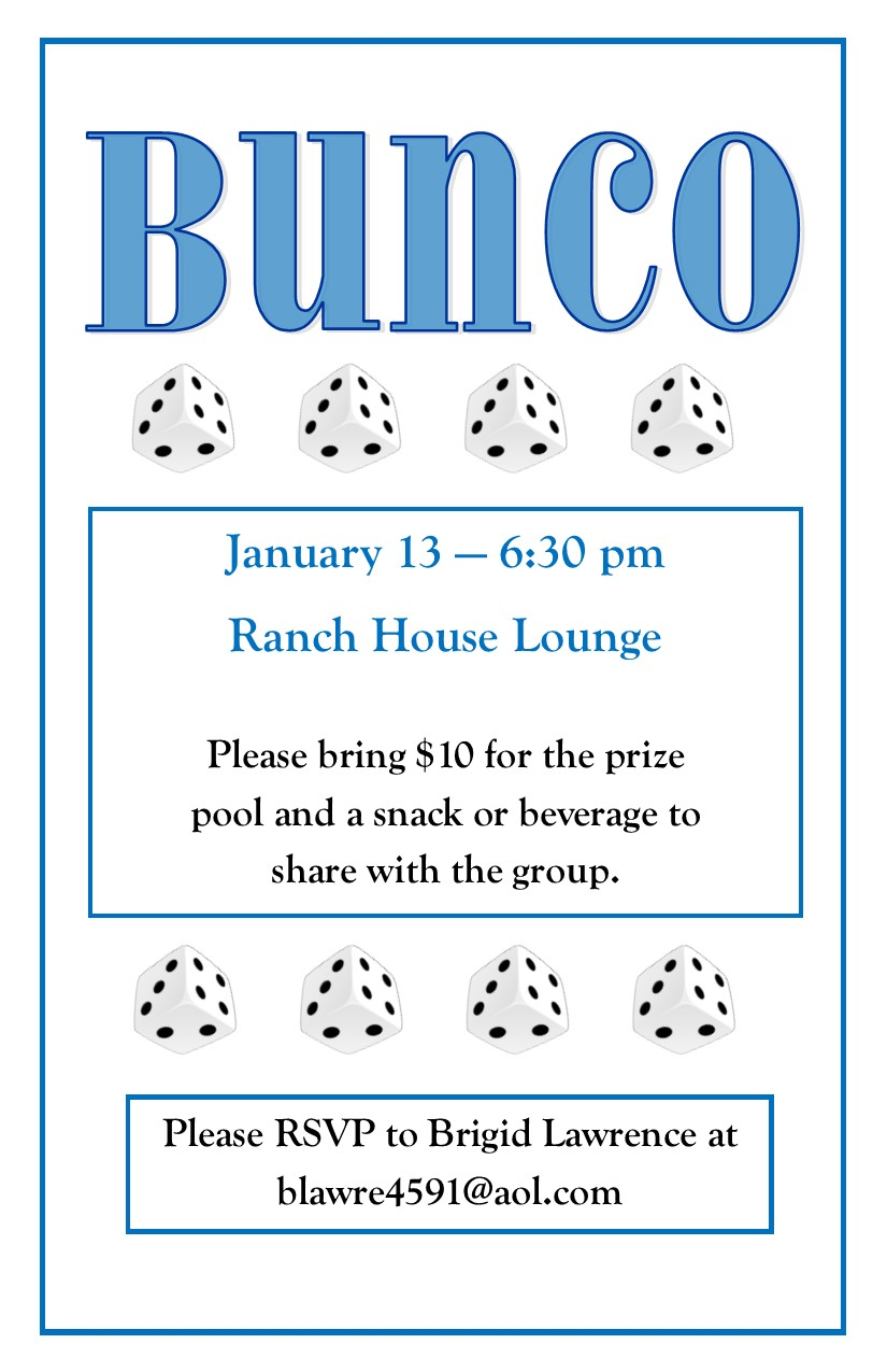January Bunco