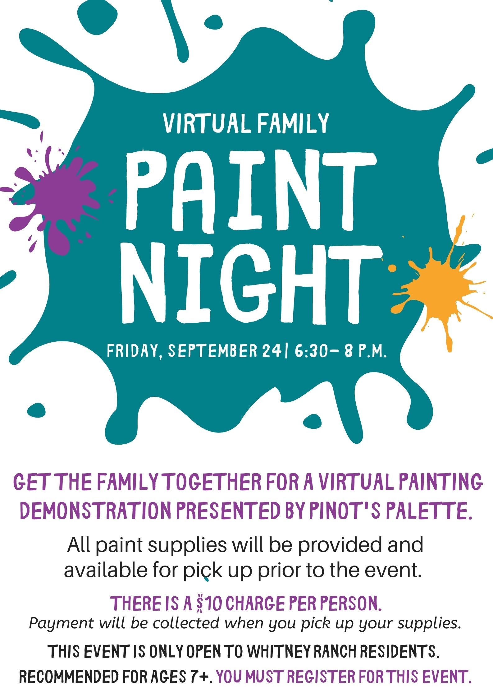 Virtual Paint Night 1