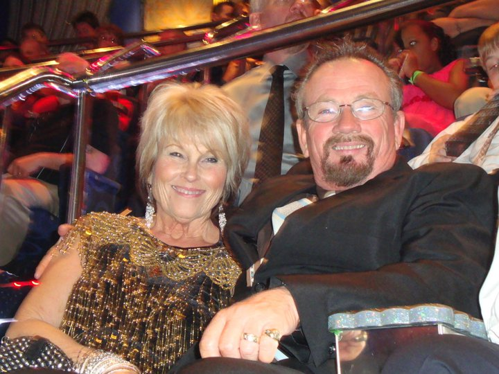 Bill and Jeanette on Cruise