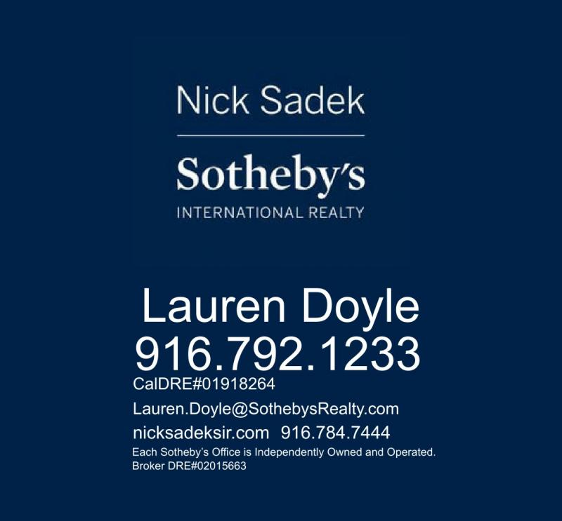Lauren Doyle, Realtor at Nick Sadek Sotheby's International Realty